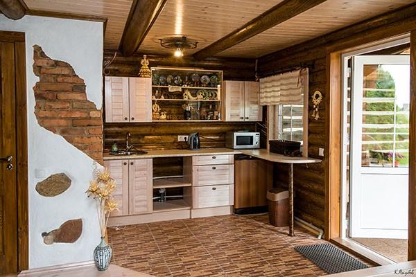 мини-кухня в доме